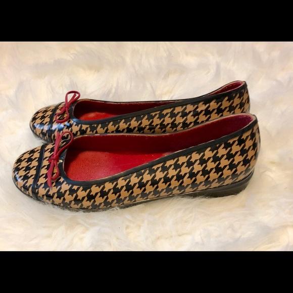 60d546a06 kate spade Shoes   Houndstooth Wellie Ballet Flats   Poshmark